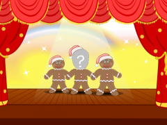 Free Face ECards Gingerbread