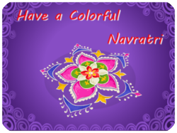 Have a colorful Navratri