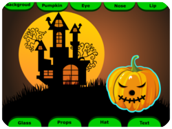 Halloween Game Card