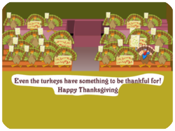Thanksgiving Rally for Turkeys